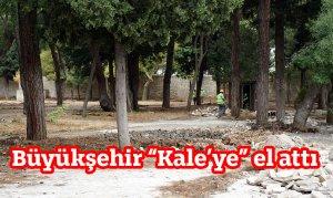 Tarihi Maraş Kalesi'nde çevre düzenlemesi yapılmaya başlanıldı