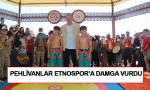 Pehlivanlar Etnospor'a Damga Vurdu