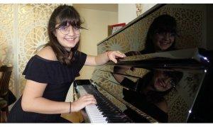 12 yaşındaki piyanist yeni ödüller peşinde