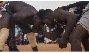 Sudan kültürünün kadim geleneği: Nuba güreşleri