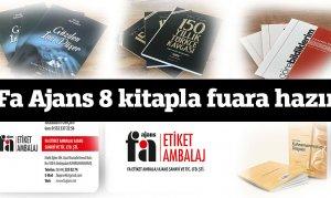 Fa Ajans 8 kitapla Kahramanmaraş Kitap ve Kültür Fuarına hazır