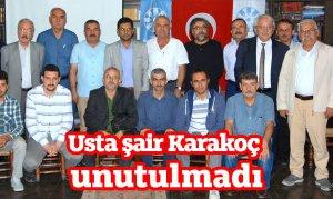 Usta şair Karakoç unutulmadı