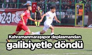 Kahramanmaraşspor deplasmandan galibiyetle döndü