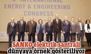 SANKO elektrik santrali dünyaya örnek gösteriliyor