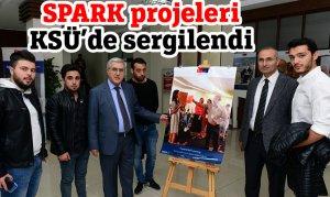 SPARK projeleri KSÜ'de sergilendi