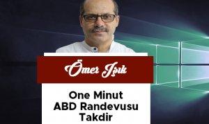 One Minut-ABD Randevusu-Takdir