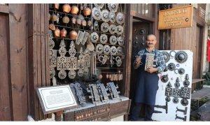 Safranbolu'daki tarihi konakların çilingiri Hüseyin usta