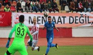 Kahramanmaraşspor kendi sahasında mağlup oldu