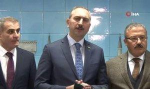 Adalet Bakanı Gül'den kadına şiddete yönelik açıklama