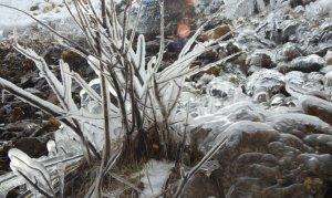 Munzur'da kış güzelliği