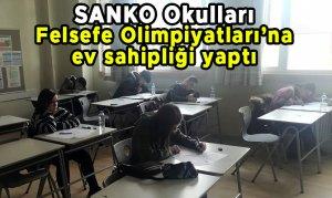 SANKO Okulları Felsefe Olimpiyatları'na ev sahipliği yaptı