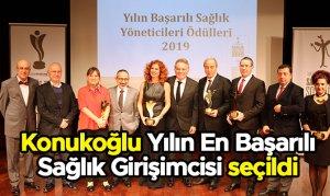 Konukoğlu Yılın En Başarılı Sağlık Girişimcisi seçildi