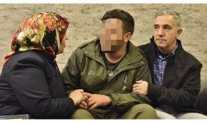 Ailesine kavuşan Cafer Ceylan 'yakıt alacağız' diyerek terör örgütünden kurtulmuş