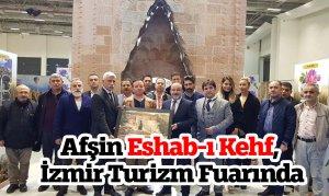 Afşin Eshab-ı Kehf, İzmir Turizm Fuarında