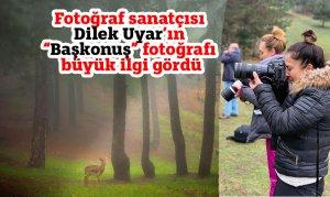 """Fotoğraf sanatçısı Dilek Uyar'ın """"Başkonuş"""" fotoğrafı büyük ilgi gördü"""