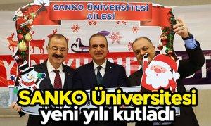 Sanko Üniversitesi yeni yılı kutladı