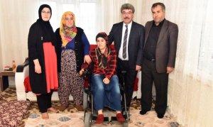 Başkan Aydın, Betül'ün Talebini Yerine Getirdi