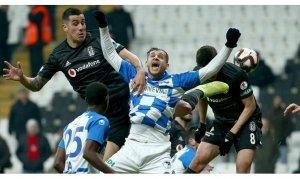 Erzurumspor, Beşiktaş'ı kupanın dışına itti