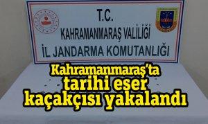 Kahramanmaraş'ta tarihi eser kaçakçısı yakalandı