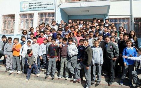 Başkan tütüncü'den okul ziyareti
