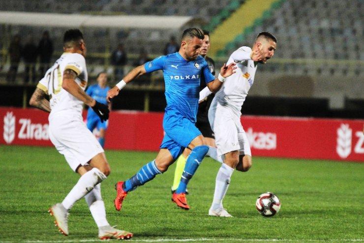 Kayserispor İzmir'den avantajlı döndü