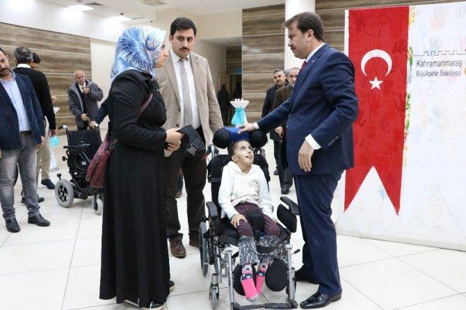 Kahramanmaraş'ta 67 engelliye tekerlekli sandalye hediye edildi