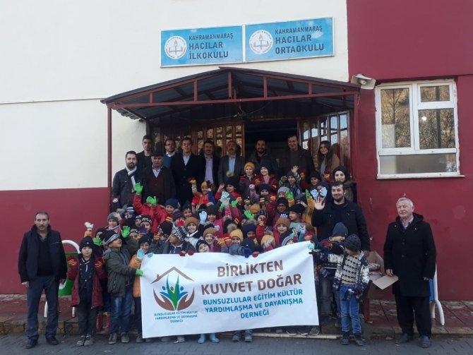 Kahramanmaraş'ta 500 öğrencinin yüzü güldü