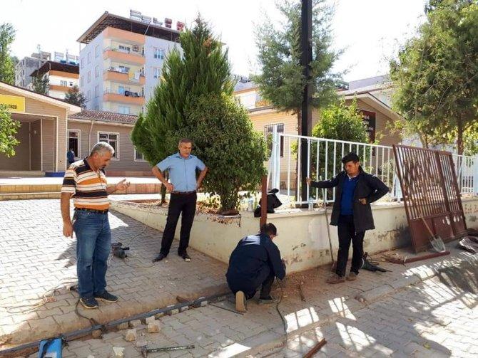 Meslek lisesi öğrencileri köy okullarında maharetlerini konuşturdular