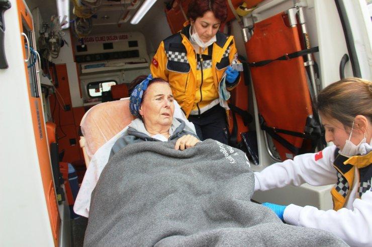 Usta oyuncu Fatma Girik, tekrar hastaneye kaldırıldı