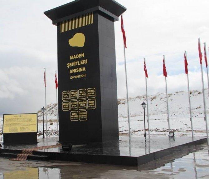 Afşin'de 11 maden şehidi dualarla anıldı