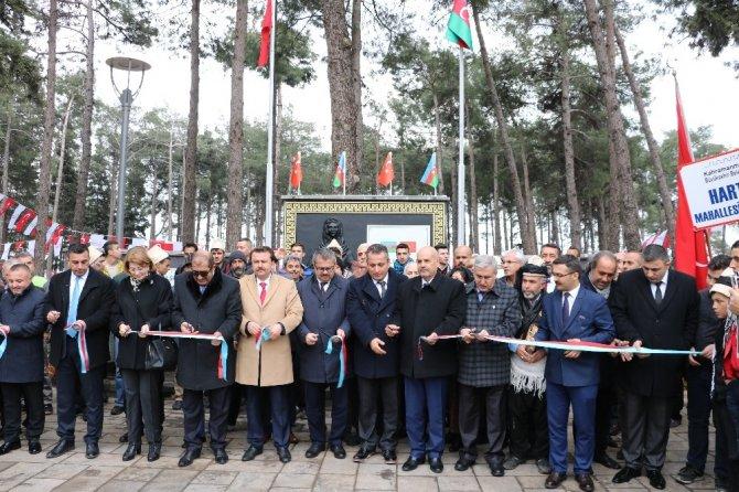 Hocalı Parkı ve Müzesi Kahramanmaraş'ta açıldı