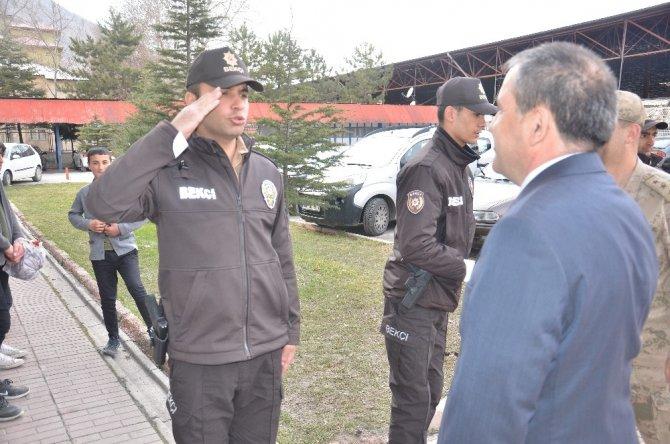 Elbistan'da 20 mahalle bekçisi göreve başladı