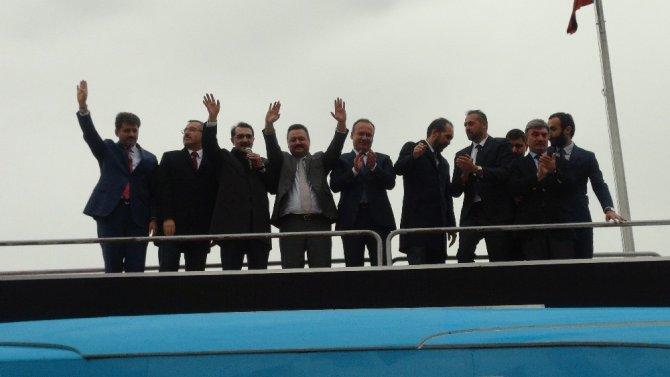 Enerji Bakanı Dönmez: 'Dün birçok şey hayaldi, hamdolsun bugün gerçekleşti'