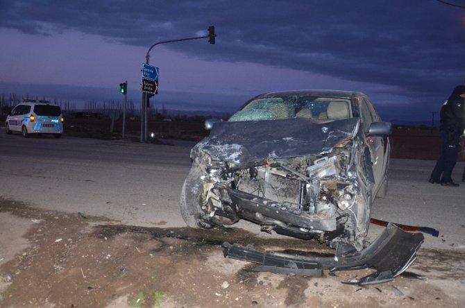 Elbistan'da trafik kazasında 1 kişi ağır yaralandı.