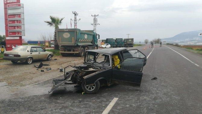 Kahramanmaraş'ta feci kaza ölümle sonuçlandı
