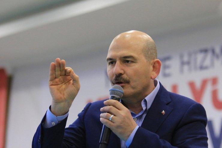 Bakan Soylu, POLSAN Genel Kurulunda konuştu