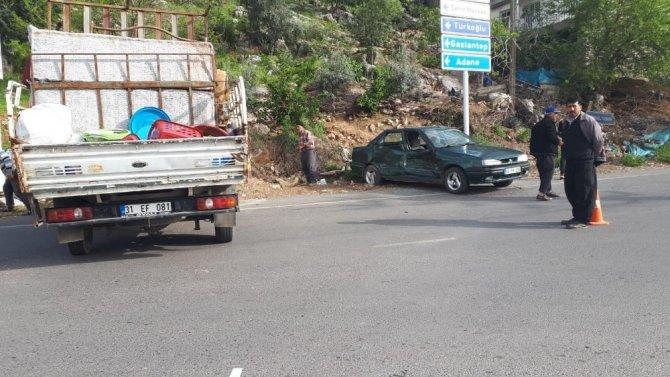 Kahramanmaraş'ta feci kaza! Aynı aileden 6 kişi...