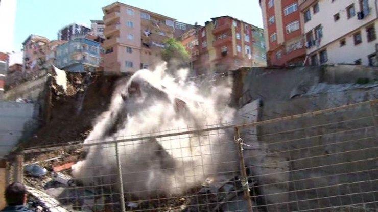 İstanbul Valiliği, Risk altındaki 10 bina boşaltıldı