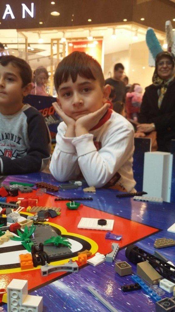 Kahramanmaraşlı çocuklar Lego'ya doydu