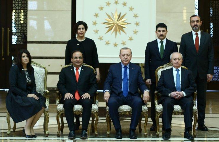 Cumhurbaşkanı Erdoğan, Dominik Büyükelçisini kabul etti