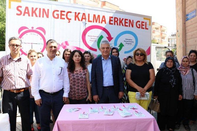 Kahramanmaraş'ta ikinci mobil kanser tarama aracı göreve başladı