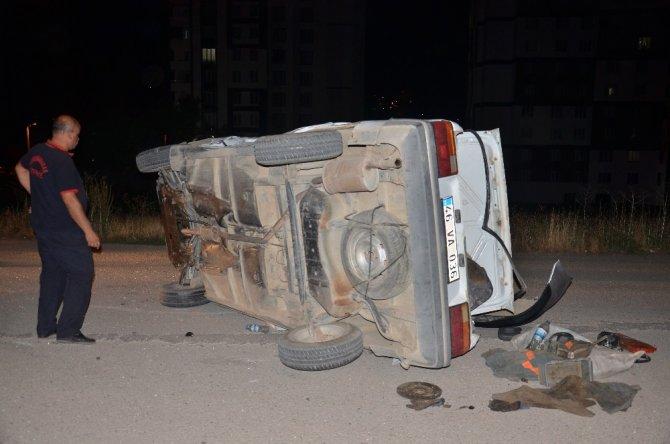 Elbistan'da feci kaza! 4 kişi yaralandı