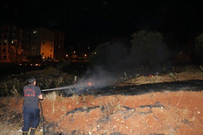Kahramanmaraş'ta havai fişekler yangına sebep oldu