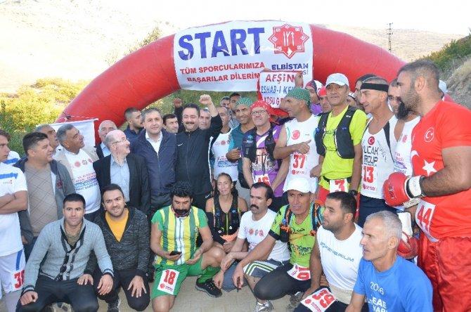 Elbistan-Afşin-Ekinözü Ultramaraton Türkiye Şampiyonası start aldı