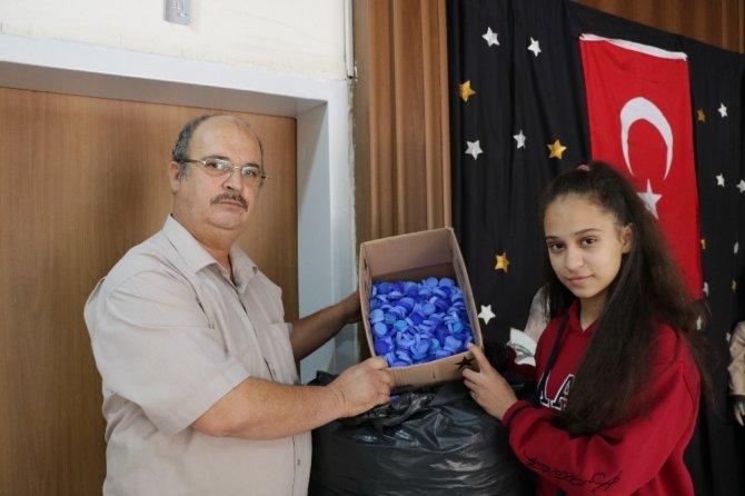 Kahramanmaraş'ta Babayla kızı engellilere umut oldu