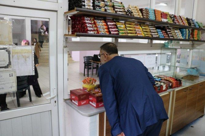 Kahramanmaraş'ta ki okul kantinlerinde ölüm saçan o çikolata satılmıyor