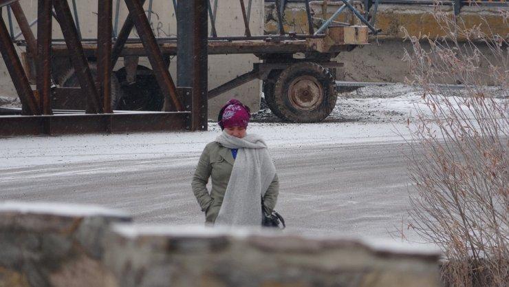 Ardahan buz kesti eksi 27 dereceyi gördü