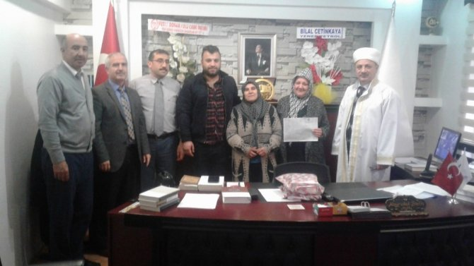 Moldovalı gelin Müslüman oldu