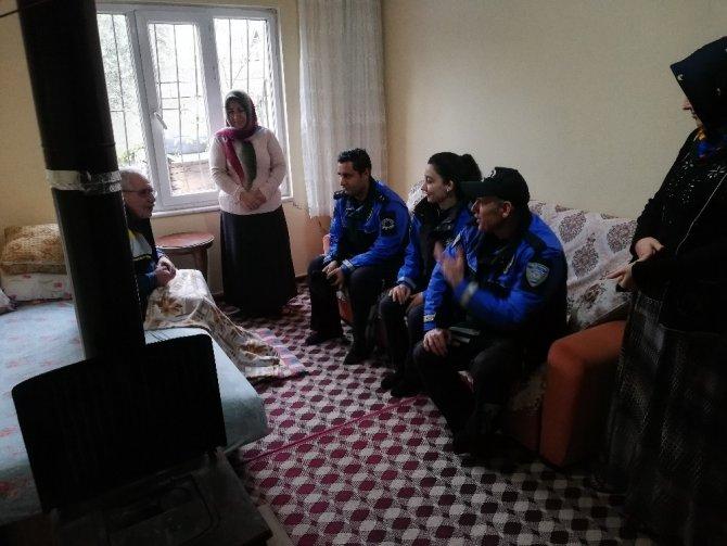 Kahramanmaraş polisi zehirlenmelere dikkat dedi soba yakma eğitimi verdi