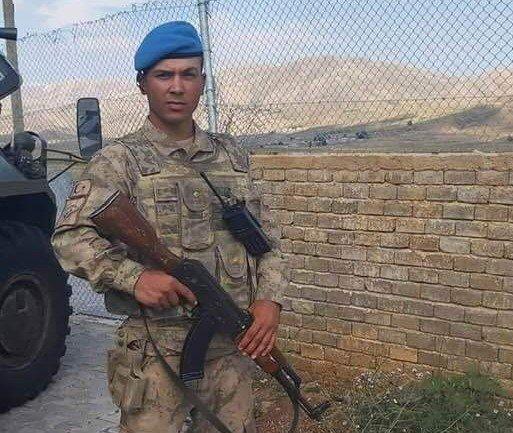 Uzman Onb. Mesut Deniz Bahçesaray'da çığ düşmesi sonucu şehit oldu